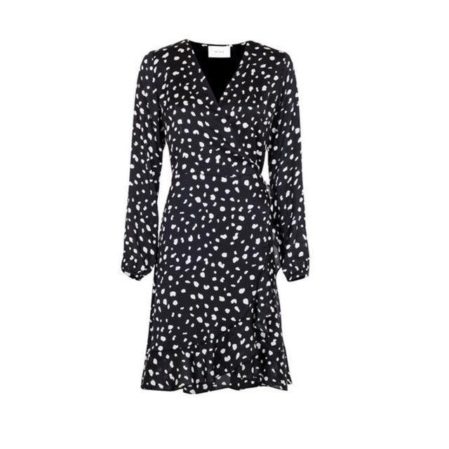 White ANNA DOT DRESS  Neo Noir  Hverdagskjoler - Dameklær er billig